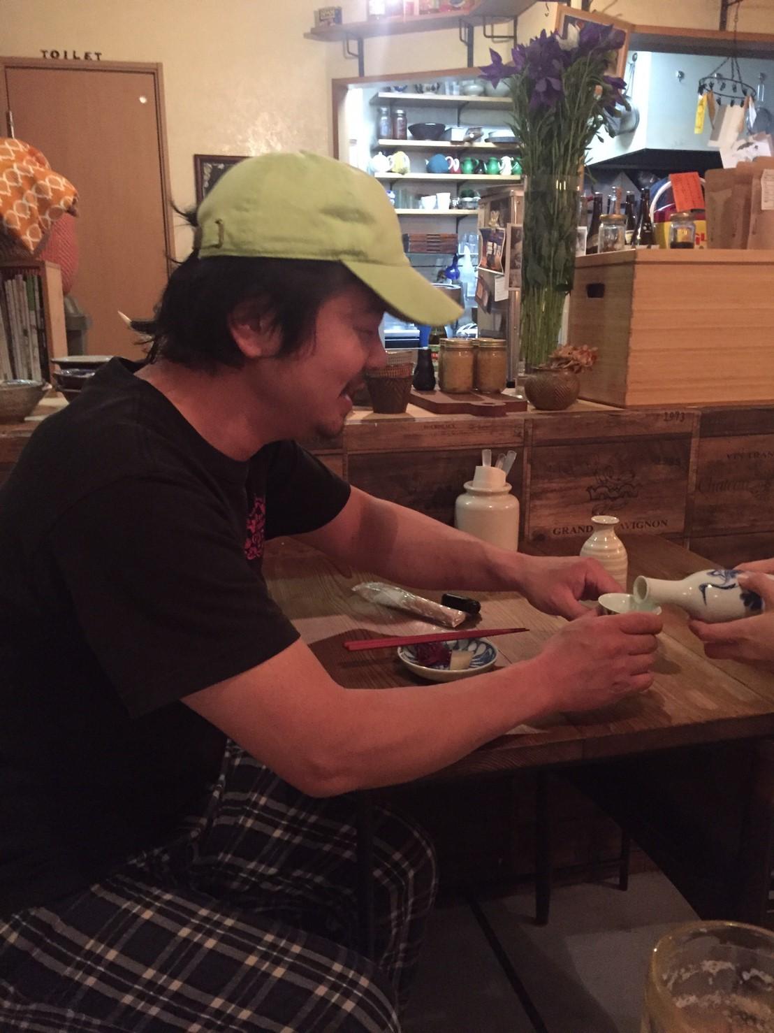 TAO CAFE にて菊池さん飲み_e0115904_07101012.jpg