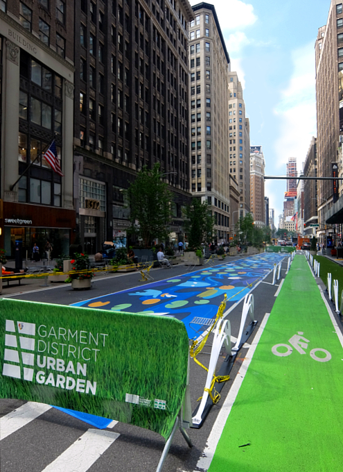 NYのブロードウェイに「都市ガーデン」(Urban Garden)登場!_b0007805_20233952.jpg