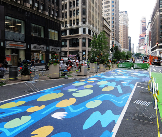 NYのブロードウェイに「都市ガーデン」(Urban Garden)登場!_b0007805_21405437.jpg