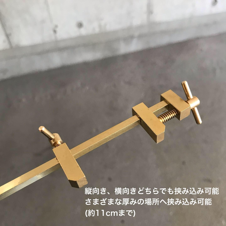 真鍮クランプフラワーベース ジワジワ売れてます_e0228408_18193067.jpg