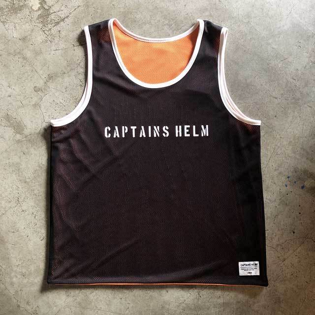 CAPTAINS HELM / キャプテンズヘルム #REVERSIBLE MESH TANK TOP_c0140709_18471327.jpg