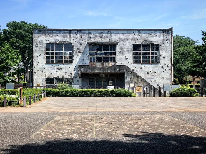 旧日立航空機株式会社 立川工場変電所 / iPhone 8_c0334533_14245584.jpg