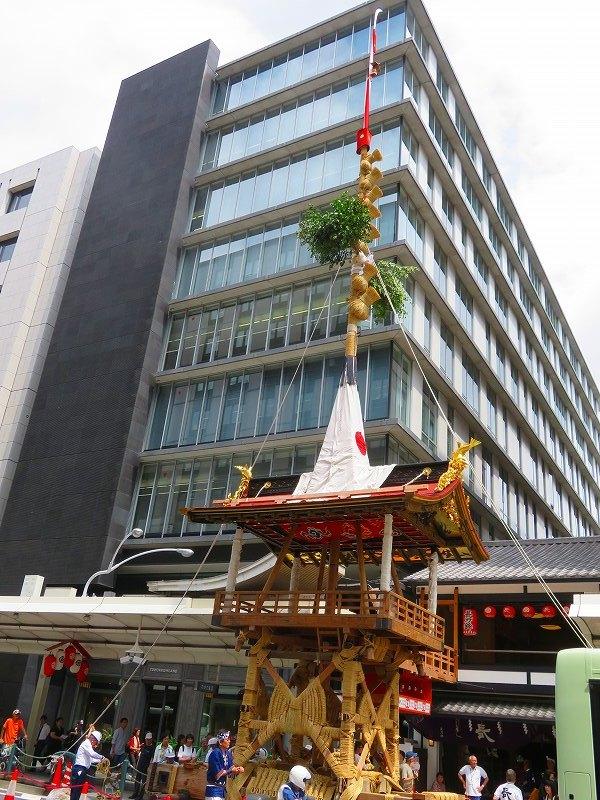 祇園祭「山鉾の組立」準備完了0190712_e0237645_10091829.jpg