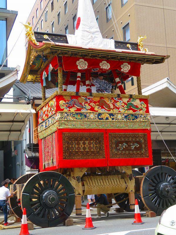祇園祭「山鉾の組立」準備完了0190712_e0237645_10091874.jpg