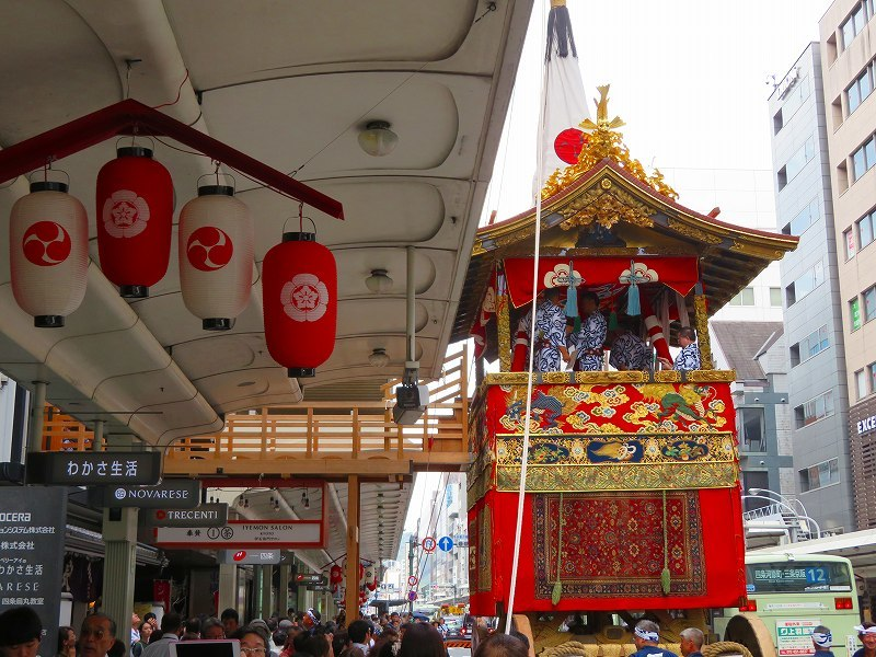 祇園祭「山鉾の組立」準備完了0190712_e0237645_10101220.jpg