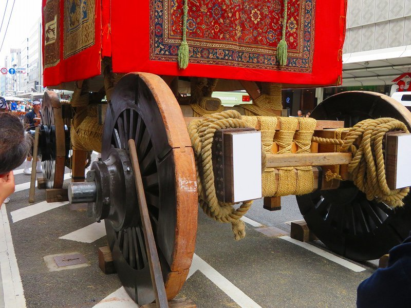 祇園祭「山鉾の組立」準備完了0190712_e0237645_10101222.jpg