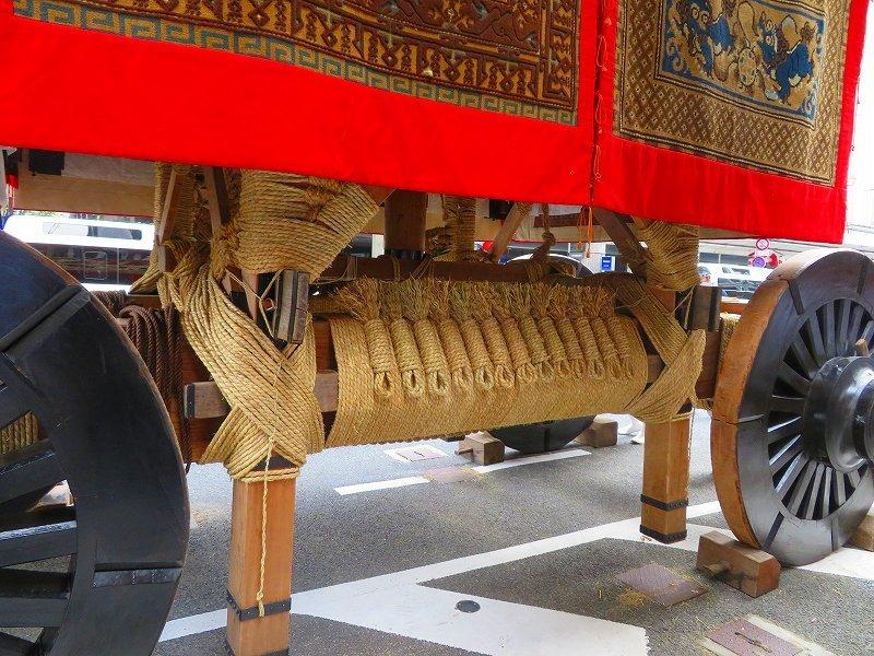 祇園祭「山鉾の組立」準備完了0190712_e0237645_10101268.jpg
