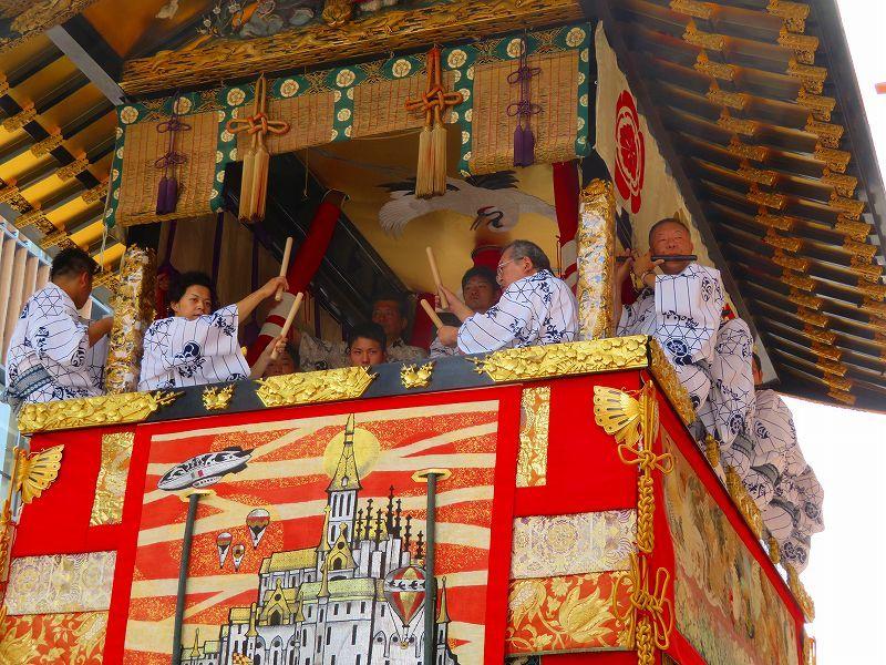 祇園祭「山鉾曳き始め」(函谷鉾)20190712_e0237645_12521948.jpg