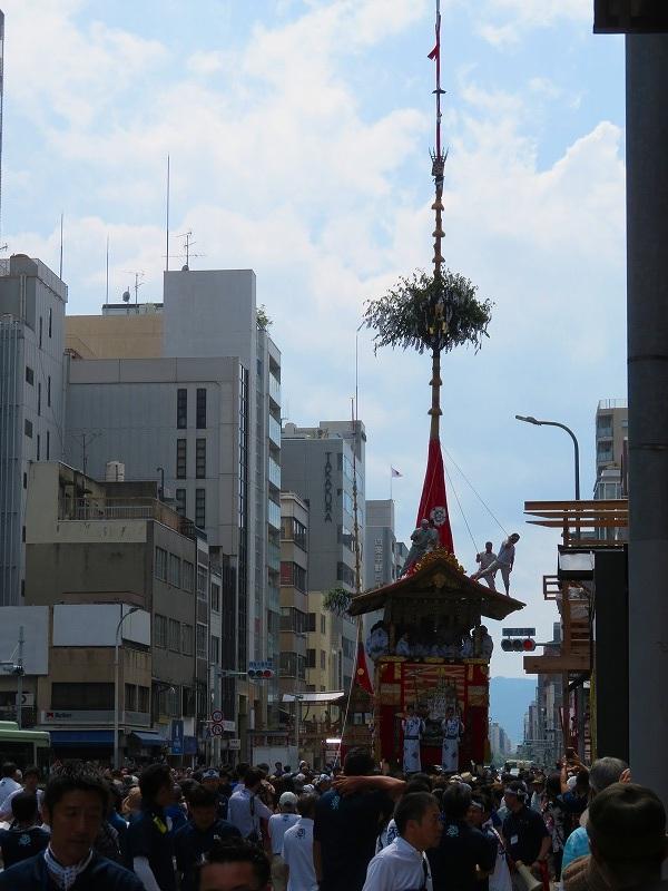 祇園祭「山鉾曳き始め」(函谷鉾)20190712_e0237645_12521969.jpg