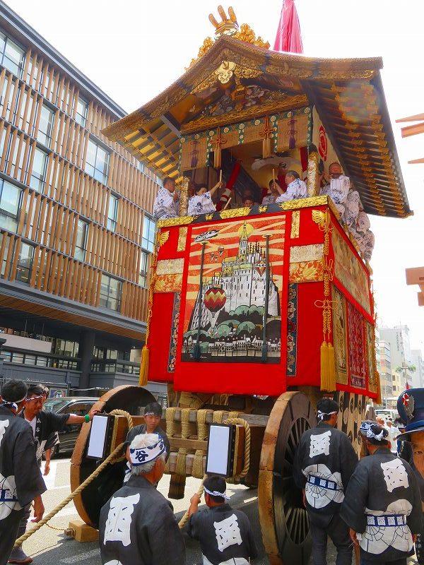 祇園祭「山鉾曳き始め」(函谷鉾)20190712_e0237645_12521992.jpg