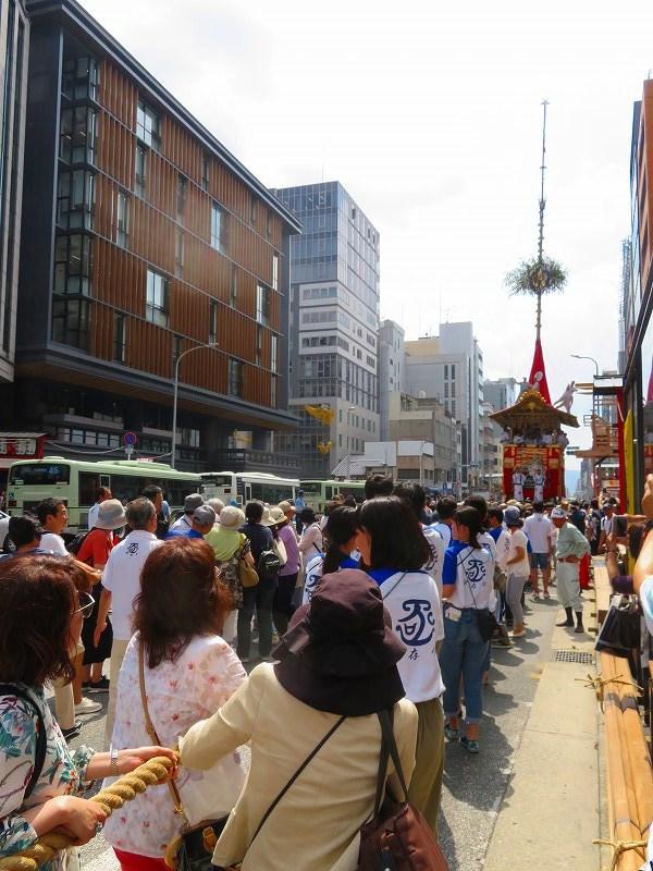 祇園祭「山鉾曳き始め」(函谷鉾)20190712_e0237645_12531927.jpg