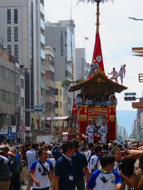 祇園祭「山鉾曳き始め」(函谷鉾)20190712_e0237645_12532046.jpg
