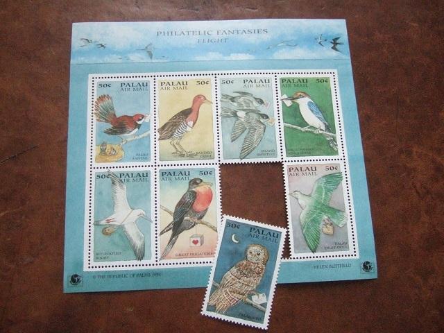 鳥と手紙の切手_a0306166_01570244.jpg