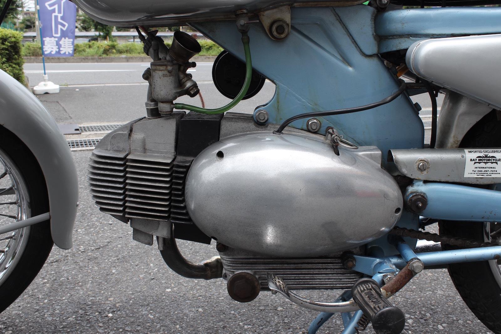 Motobi 125 Imperiale custom入庫。_a0208987_13194249.jpg