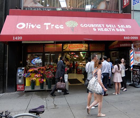 "NYミッドタウンの昔ながらのデリ、""Olive Tree Deli"" _b0007805_20544516.jpg"