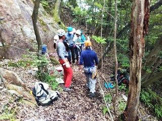 OSK初級岩登り講習会_c0359615_10081319.jpg