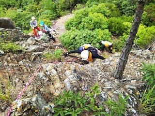 OSK初級岩登り講習会_c0359615_10083106.jpg