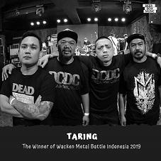 インドネシアの代表は TARING @世界最高峰のメタル・フェス:Wacken Open Air Metal Battle ドイツ_a0054926_12164361.jpg
