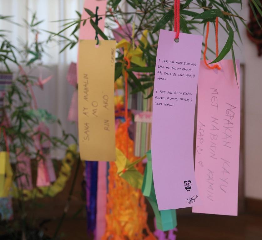 七夕飾りづくり & 長崎・大浦天主堂紙模型づくり ワークショップ Tanabata & Nagasaki Oura Church paper craft workshop_a0109542_12221185.jpg
