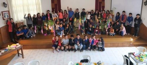 七夕飾りづくり & 長崎・大浦天主堂紙模型づくり ワークショップ Tanabata & Nagasaki Oura Church paper craft workshop_a0109542_12222438.jpg