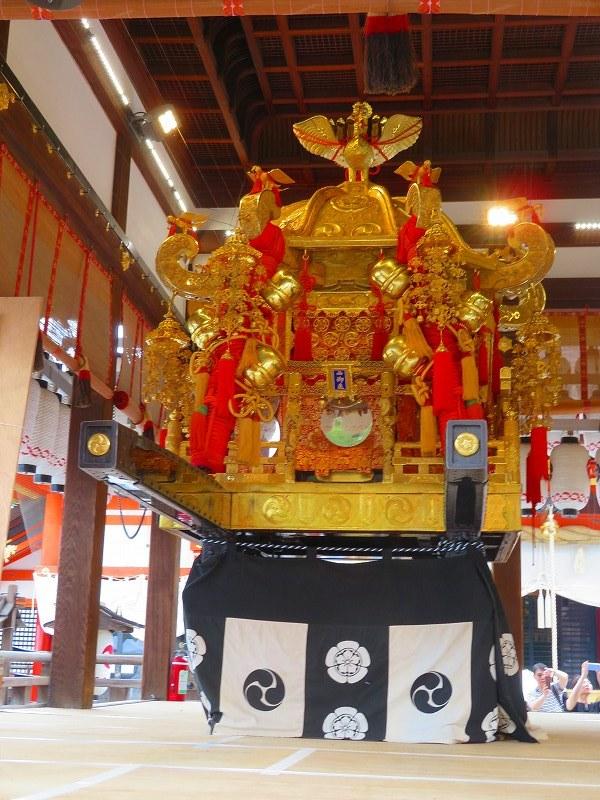 祇園祭「八坂神社の御神輿」20190712_e0237645_15081820.jpg