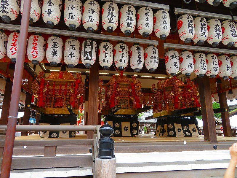 祇園祭「八坂神社の御神輿」20190712_e0237645_15081827.jpg