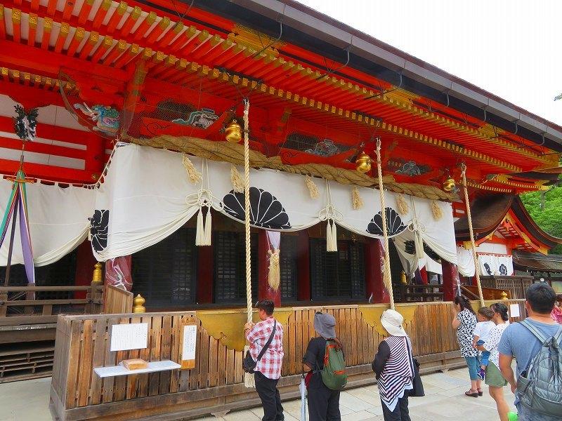 祇園祭「八坂神社の御神輿」20190712_e0237645_15081872.jpg