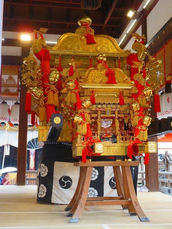祇園祭「八坂神社の御神輿」20190712_e0237645_15090570.jpg
