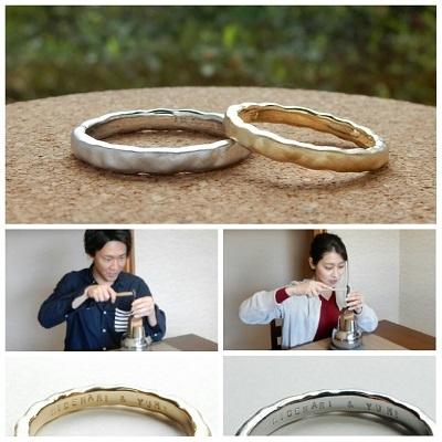 工房オリジナルの結婚指輪 セミオーダー   岡山_d0237570_14180717.jpg
