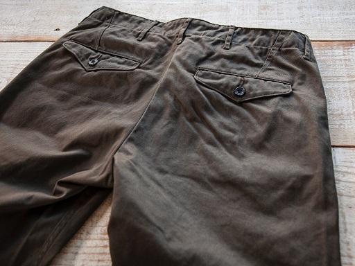 Officer Trousers SlimFit Type2_d0160378_16513504.jpg