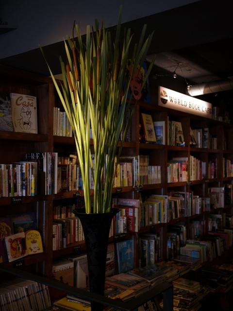 今週のWORLD BOOK CAFEさんは「シマガマの穂」。2019/07/14。_b0171193_18203523.jpg