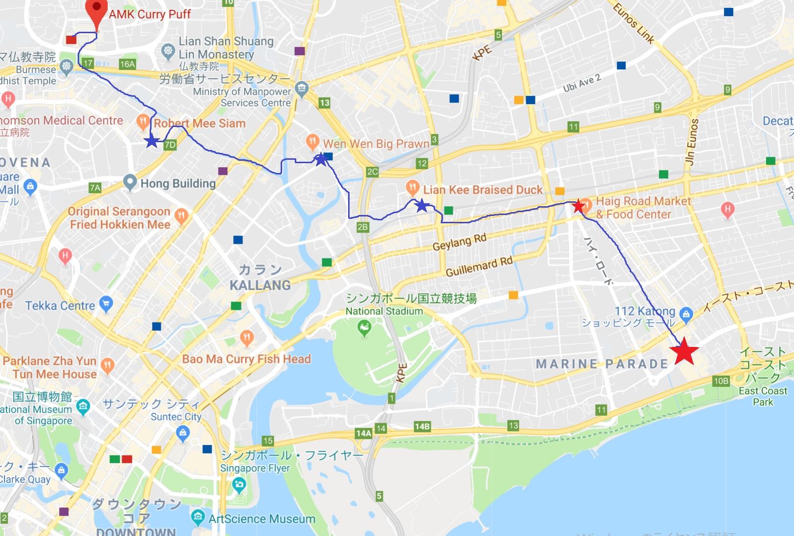 Haig Rd FC から ホテルまで。長い散歩はようやくゴール!_c0212604_1293254.jpg
