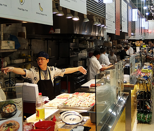 "NYミッドタウンの最先端のデリ、""COOK Eatery""_b0007805_10420595.jpg"