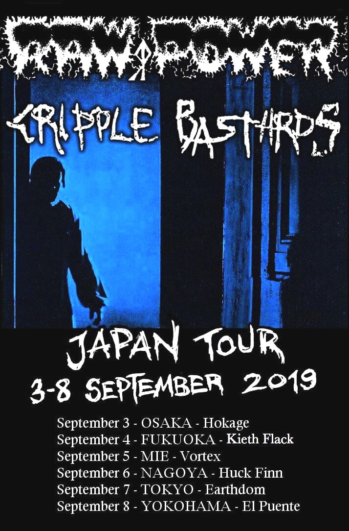 RAW POWER & Cripple Bastards (from ITALY) japan tour 2019_c0234515_16224293.jpg