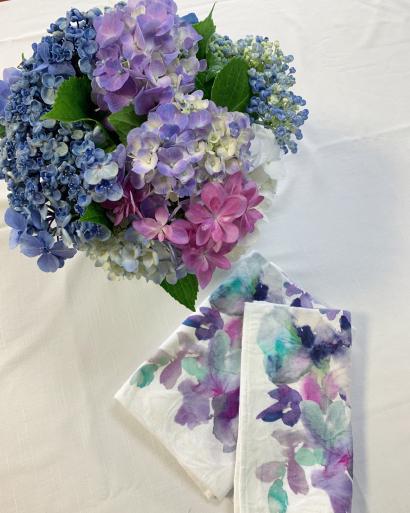 紫陽花とフルーツサンド_c0223630_12043511.jpg