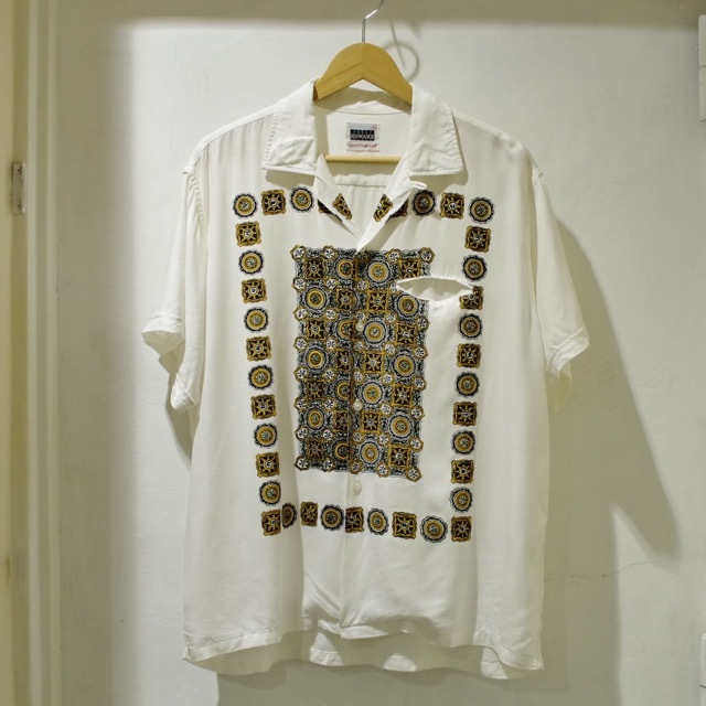 1960s Print Rayon Shirt_d0257333_19170584.jpg