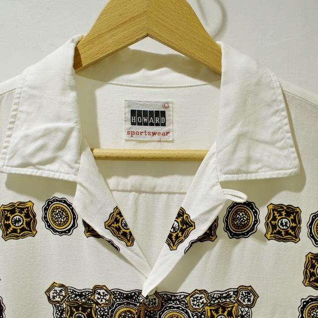 1960s Print Rayon Shirt_d0257333_19171985.jpg