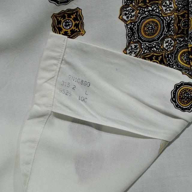 1960s Print Rayon Shirt_d0257333_19175085.jpg