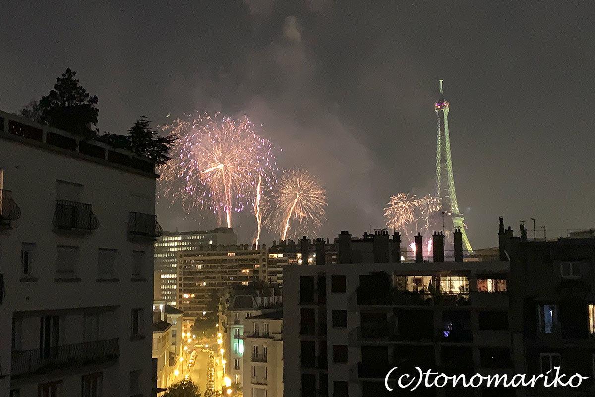 7月14日、革命記念日の花火パーティー_c0024345_22083760.jpg
