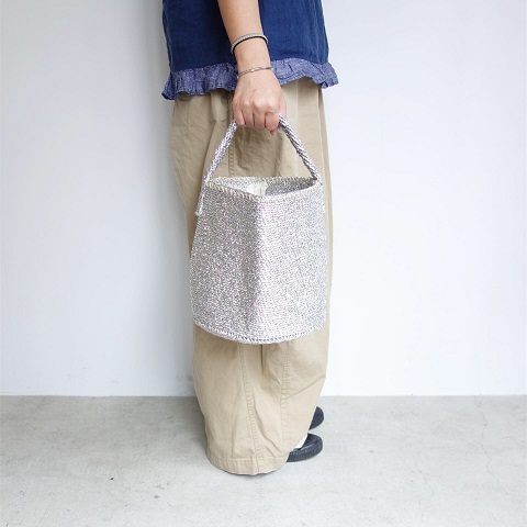 【再入荷】RECTANGLE : Silver Basket_a0234452_18502328.jpg