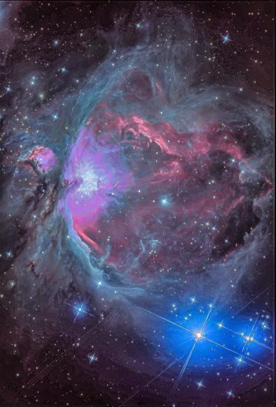 やまぬ雨に良からぬネビュラを仕上げる(オリオン星雲)_b0100253_22482967.jpg