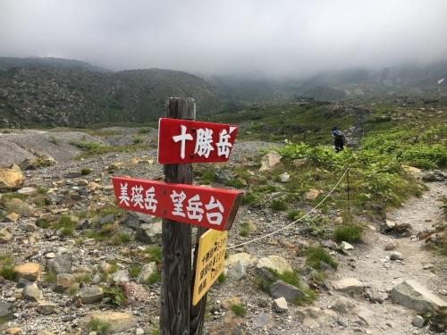 """""""雲の平""""のお花畑まで足慣らし_e0326953_09402413.jpg"""