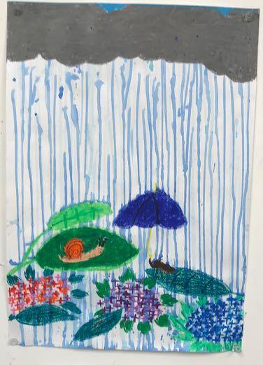7月の活動〜千里中央〜雨の絵などなど_d0076558_09195374.jpg