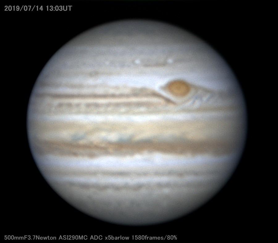 2度目の梅雨明けと木星_a0095470_21451167.jpg