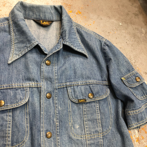 ◇ 70s Lee S/S Denim Jacket ◇_c0059778_19551515.jpg