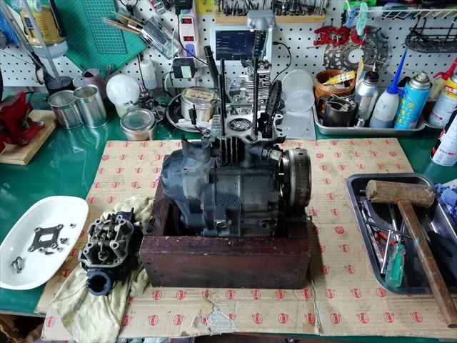 FIカブのジャンクエンジン検証_b0080681_20191633.jpg
