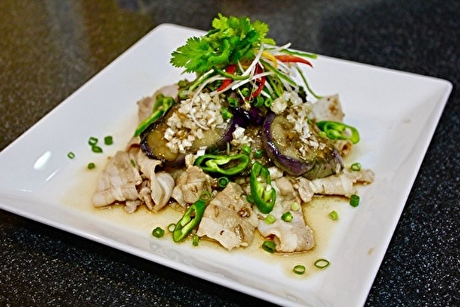 豆腐入り肉団子の甘酢あん、マッシュポテト添え_a0223786_16125137.jpg