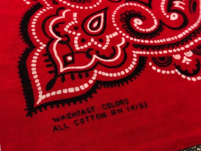 7月17日(水)マグネッツ大阪店ヴィンテージ入荷!!#5  VintageBandana編!! UncutBandana & ElephantBrand!!_c0078587_23372295.jpg
