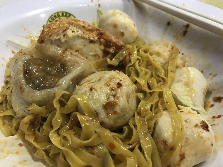 Song Kee Fishball Noodle カトンでここは外せない!_c0212604_2102960.jpg