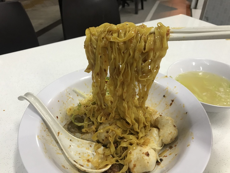 Song Kee Fishball Noodle カトンでここは外せない!_c0212604_2111128.jpg